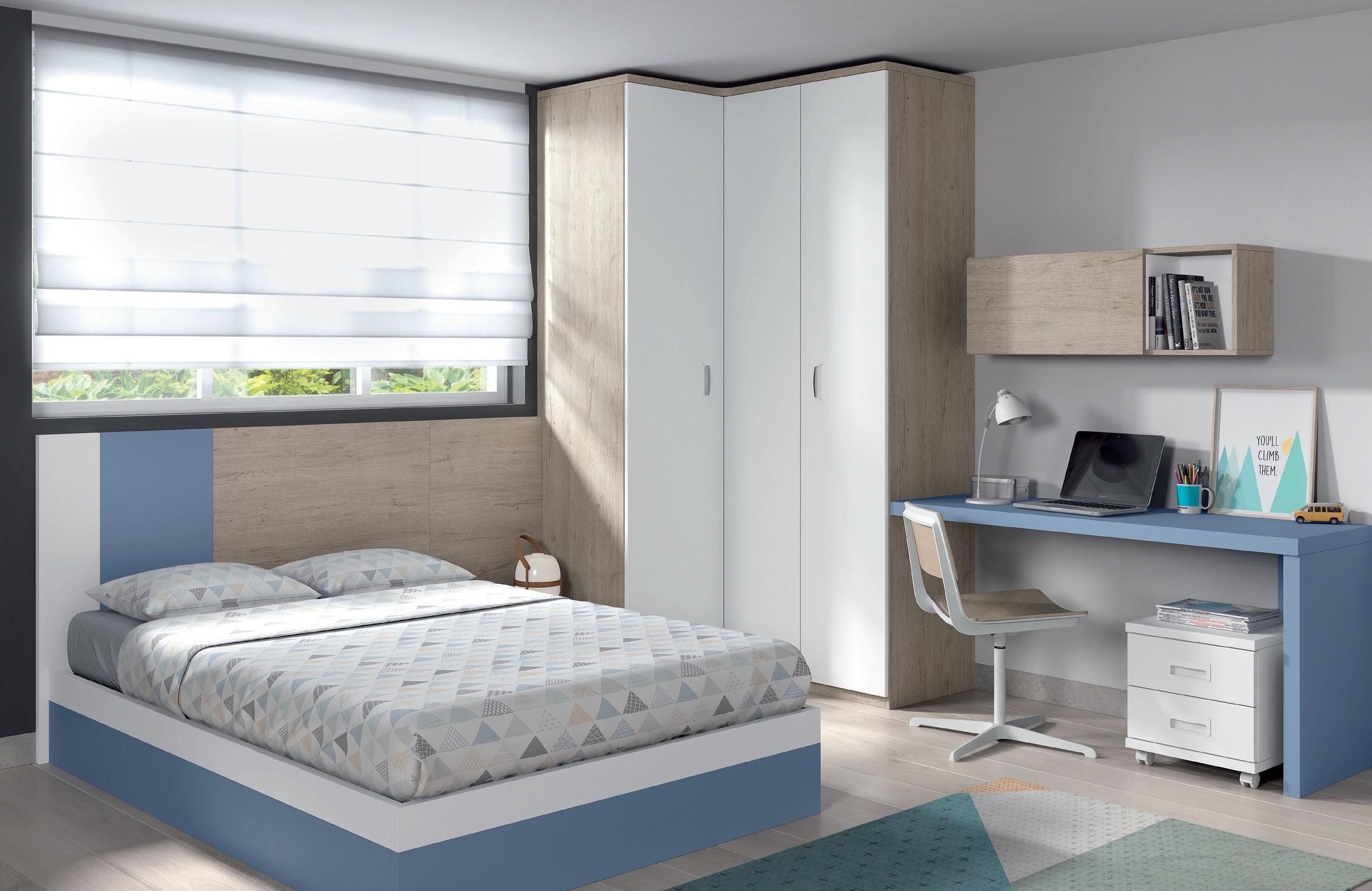 F513 brikasa for Habitaciones juveniles cama 135