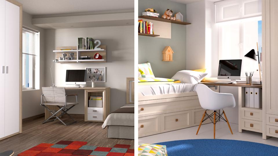 Dormitorios juveniles: Recomendaciones para decorarlo